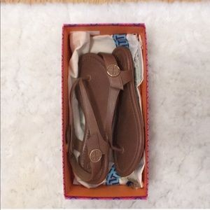 Tory Burch Shoes - Tory Burch mini travel sandals New in Box